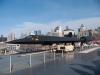 Blackbird на фона на Манхатън