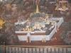 Стенописите по стените на Големият Дворец, Банкок, Тайланд