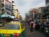Као Сан Роуд - централната улица на бекпекърите в Банкок