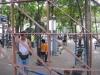 Фитнес в парка, Банкок, Тайланд