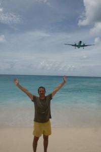 Аз на Махо Бийч - самолетната Мека